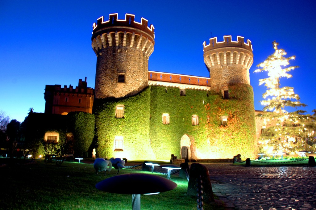 The Castle in the town of Peralada, home of the vineyard of the same name.