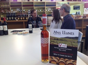 Michael gets the scoop on the wines of Mas Llunes from Antoni and Gemma.