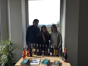 Michael and Gemma enjoyed a great time with Leonora, export manager for Cooperativa Garriguella.