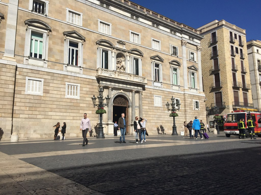 The power seat of Catalunya, the Generalitat