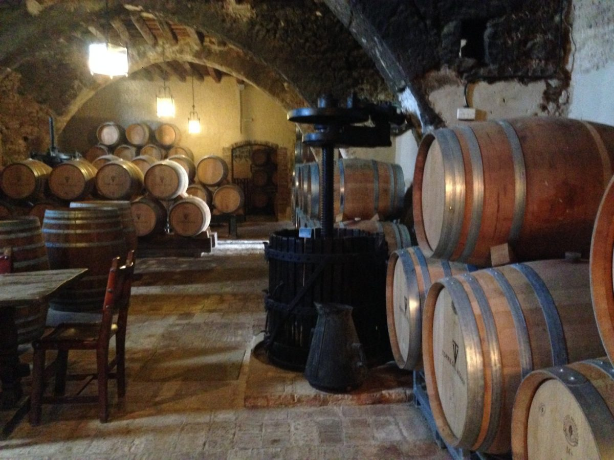 10 Favourite Barrel Rooms in Catalunya