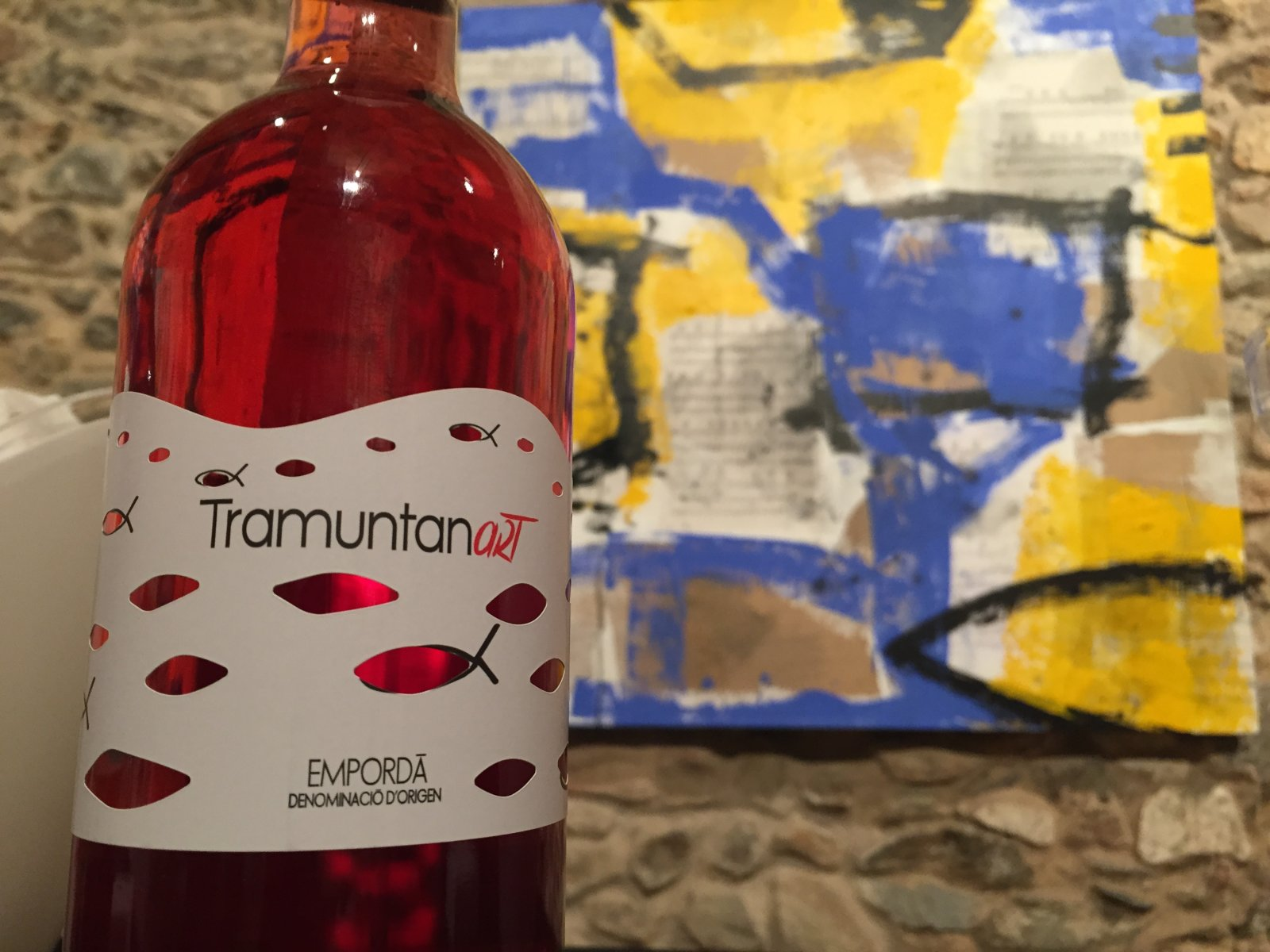 Photo Gallery: Cooperativa Garriguella Tramuntanart wine launch